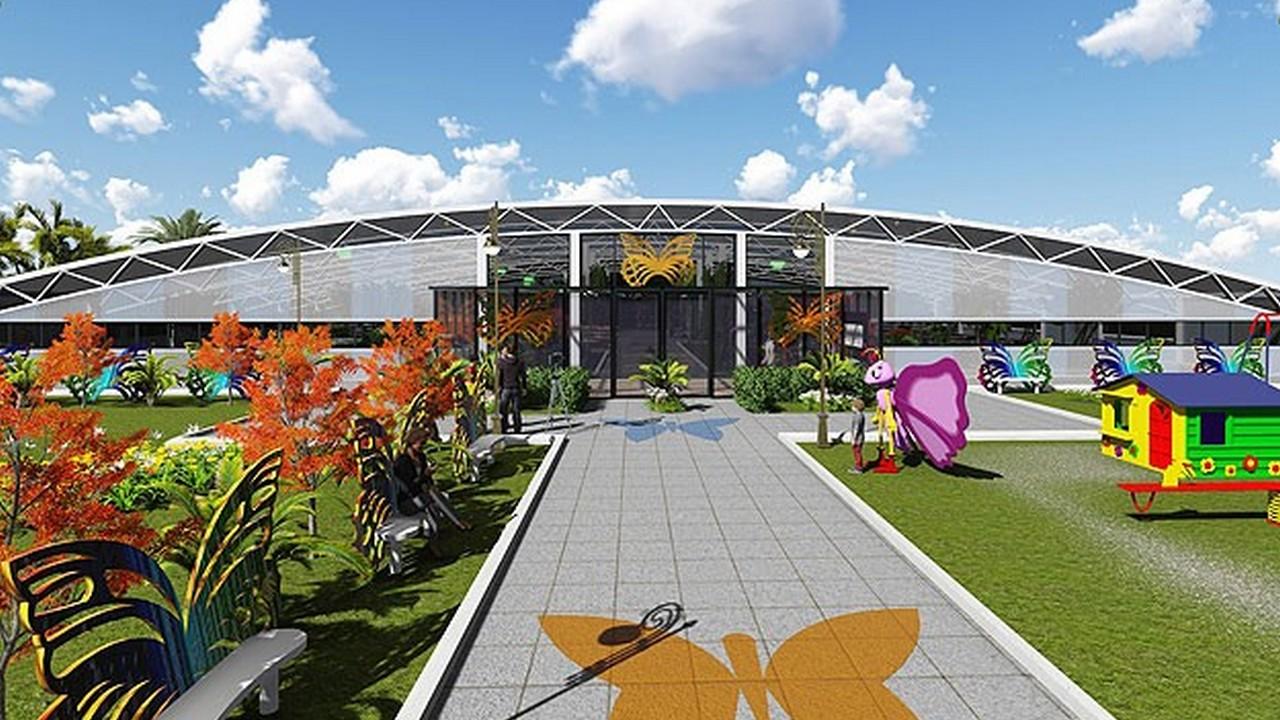 حديقة الفراشات | لارا