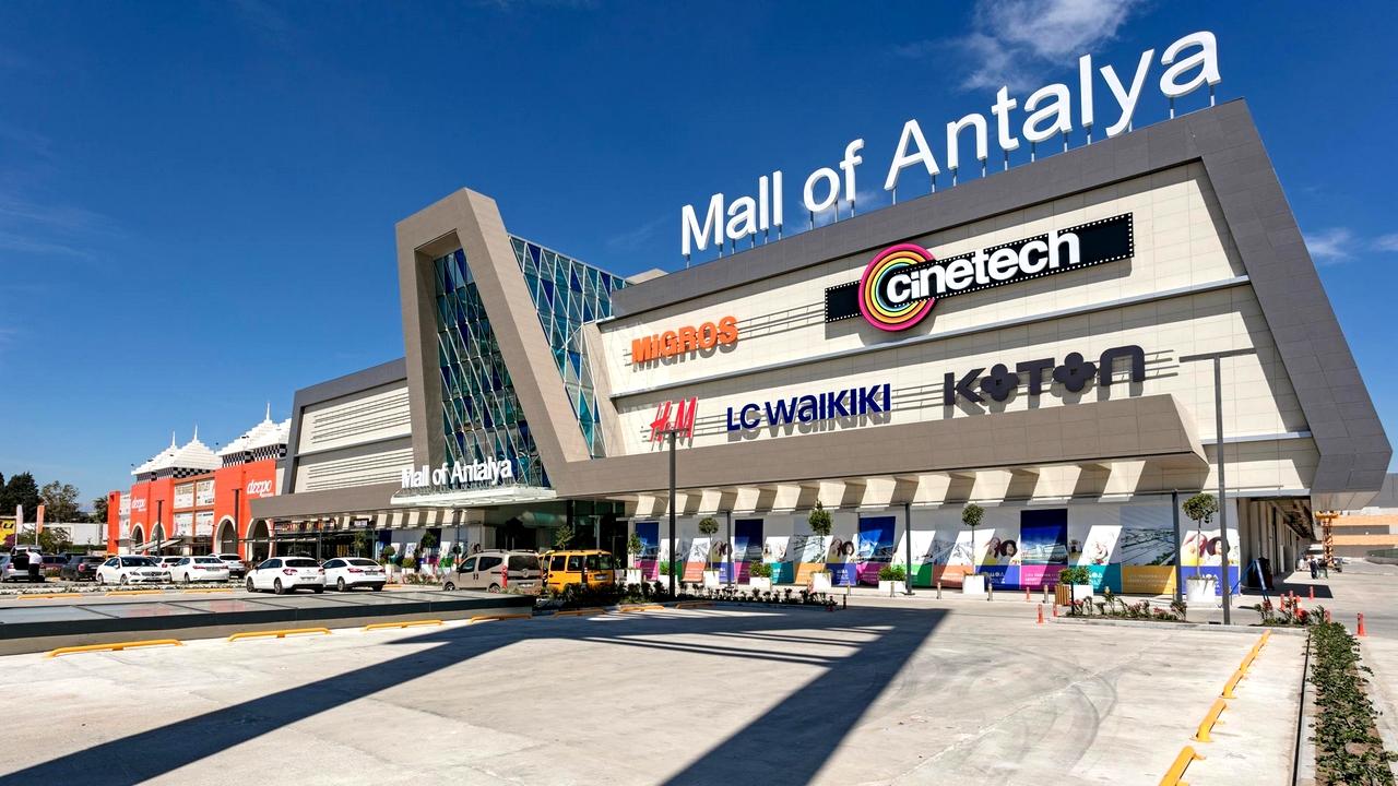 """إفتتاح مركز تجاري جديد في أنطاليا """"Mall Of Antalya'"""