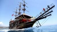 انطاليا وسفينة القراصنة