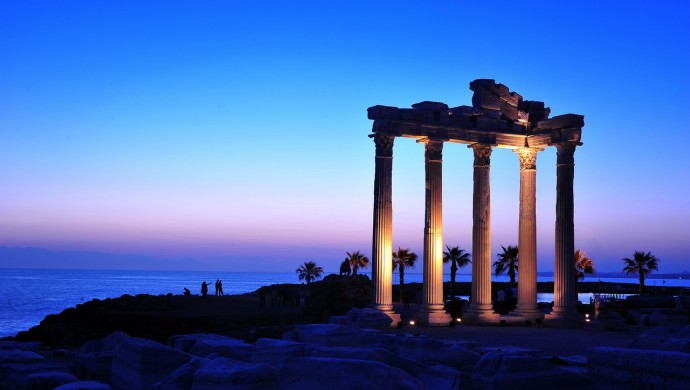 سيدا الآثرية في انطاليا - طبيعة ساحرة وتاريخ عريق