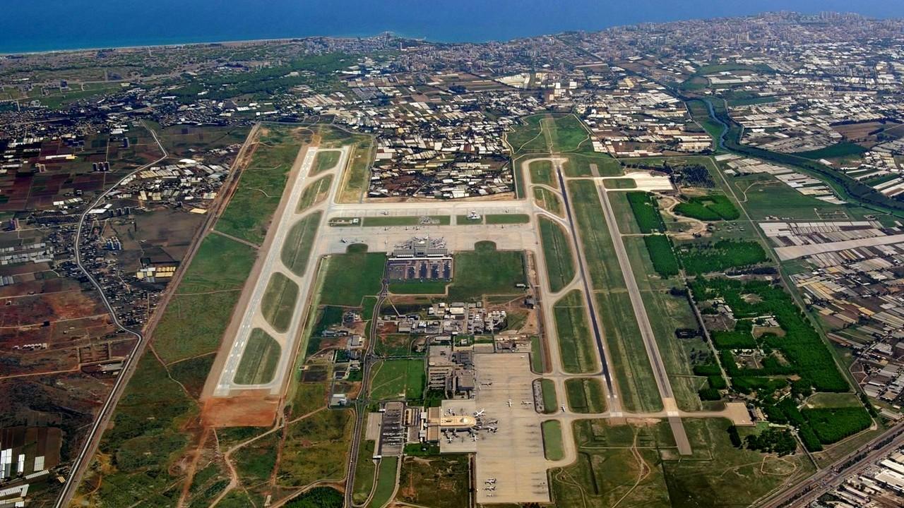 تصوير جوي لمطار انطاليا