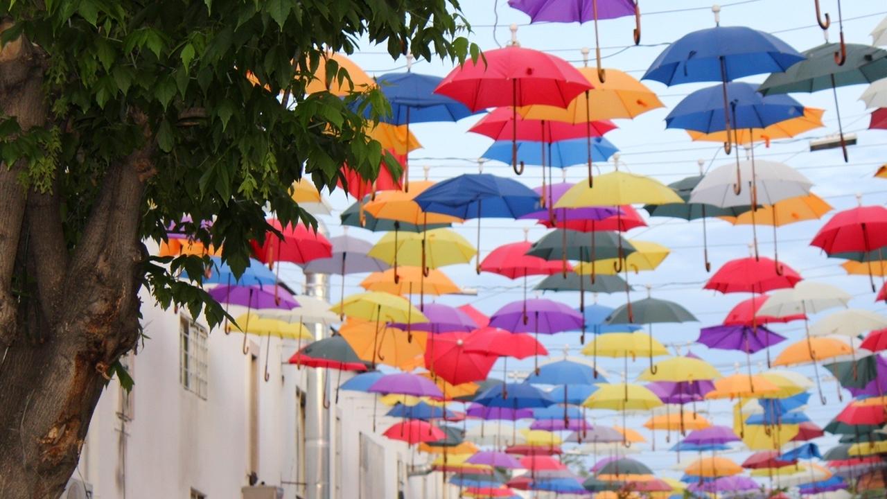 شارع المظلات | البلدة القديمة