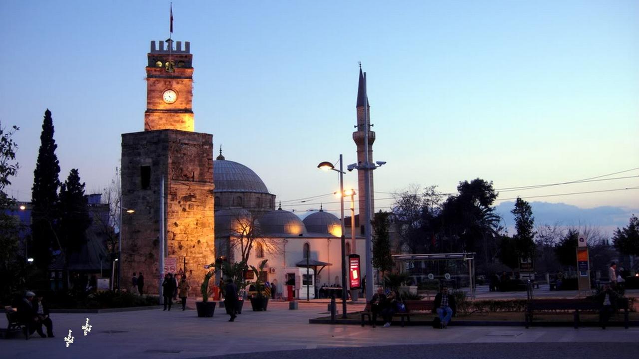 برج الساعة | البلدة القديمة | أنطاليا